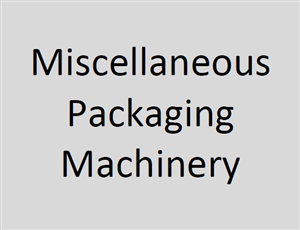 Miscellaneous Packaging