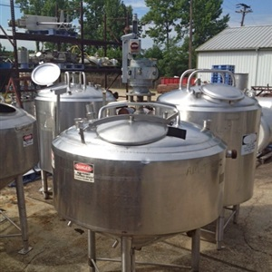 220 Gallon Crepaco Jacketed Mix tank