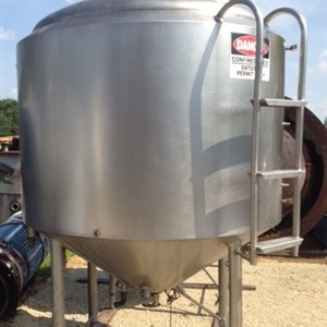 800 Gallon Crepaco Jacketed Mix tank